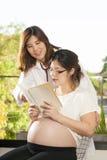 Pregnancy care Stock Photos