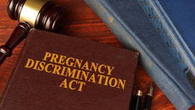 The Pregnancy Discrimination Act. royalty free stock images