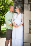 Pregnancy: Elegant Couple Stock Photos