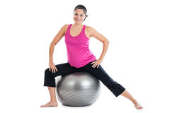 Pregnancy fitness Royalty Free Stock Photo