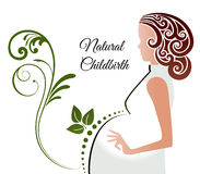 Pregnancy Natural Childbirth Royalty Free Stock Image