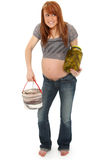 Pregnancy Pickles and Ice Cream Royalty Free Stock Images
