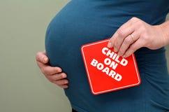 Pregnancy - pregnant woman Royalty Free Stock Photo