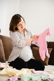 Pregnancy preparations Royalty Free Stock Photo