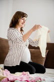 Pregnancy preparations Royalty Free Stock Images