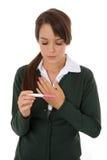 Pregnancy Relief Royalty Free Stock Photos