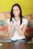 Pregnancy test Stock Images