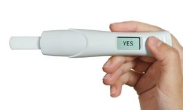 Pregnancy test Royalty Free Stock Photos