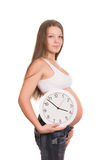 Pregnancy times Royalty Free Stock Image