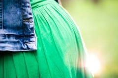 Pregnancy with viburnum Stock Images