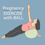 Daily Pregnancy Workout Stock Photos