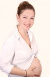 Pregnant Royalty Free Stock Photo