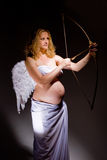 Pregnant angel Stock Photo