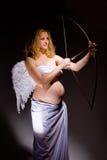 Pregnant angel Stock Photo