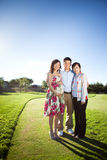 Pregnant asian woman royalty free stock images