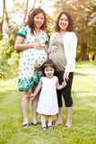 Pregnant Asian women Royalty Free Stock Photo
