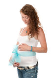 Pregnant beautiful woman Royalty Free Stock Images