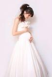 Pregnant bride Stock Image