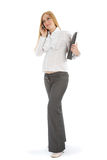 Pregnant businesswoman Royalty Free Stock Images