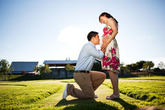 Pregnant couple Royalty Free Stock Photography