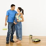 Pregnant couple. Royalty Free Stock Photos