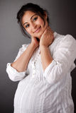 Pregnant East Indian Woman Stock Image