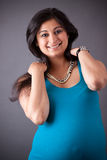 Pregnant East Indian Woman Royalty Free Stock Photography