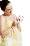 Pregnant female Royalty Free Stock Photo