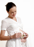 Pregnant female Royalty Free Stock Photography