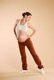 Pregnant female Stock Photo