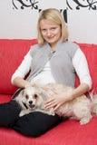 Pregnant female Royalty Free Stock Image
