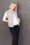 Pregnant female royalty free stock images