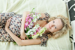 Pregnant female Royalty Free Stock Photos
