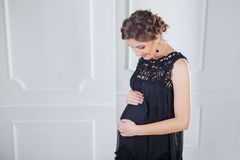 Pregnant female Stock Photos