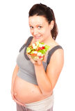Pregnant food Stock Images