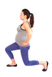 Pregnant gym Stock Photos