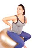 Pregnant gym Stock Photos