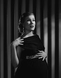 Pregnant Hollywood woman Stock Photos