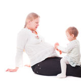 Pregnant mother Royalty Free Stock Photo