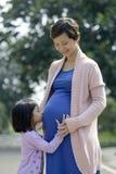 Pregnant Mother Stock Photo