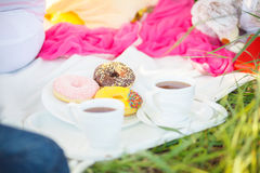 Pregnant sweets tea Stock Images