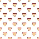 Pregnant underwear pattern seamless Stock Image