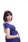 Pregnant woman royalty free stock images