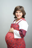 A pregnant woman Stock Images