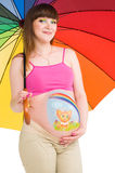 A pregnant woman Royalty Free Stock Photos