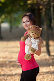 Pregnant woman Royalty Free Stock Image