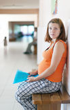 Pregnant woman at the clinic Stock Photography