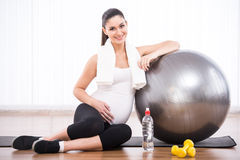 Pregnant woman Royalty Free Stock Photo