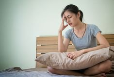 Free Pregnant Woman Feeling Unwell , Suffering From Morning Sic Stock Images - 101732374