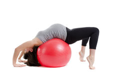 Pregnant woman and fitness Royalty Free Stock Photo